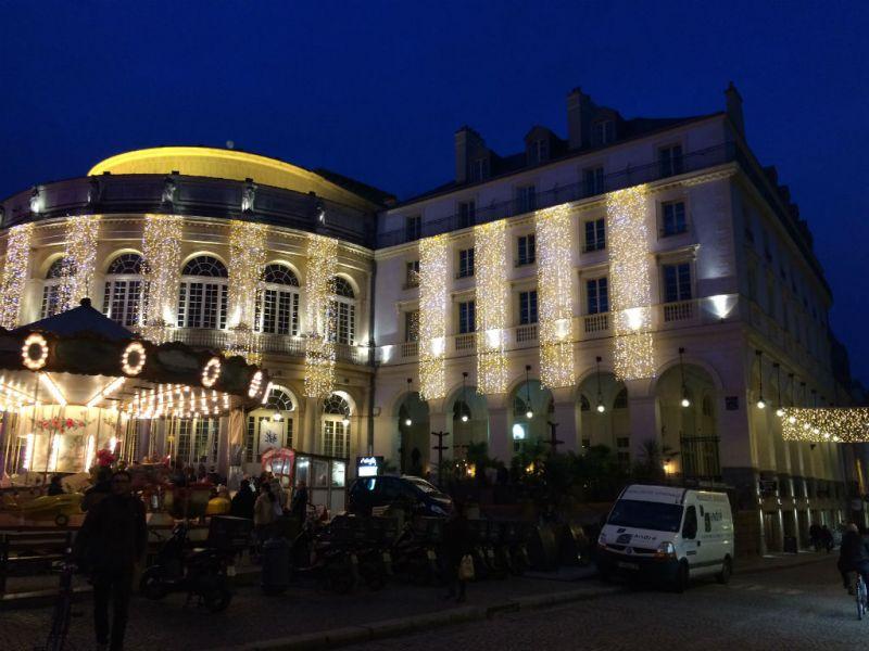 Picca extérieur nuit Rennes