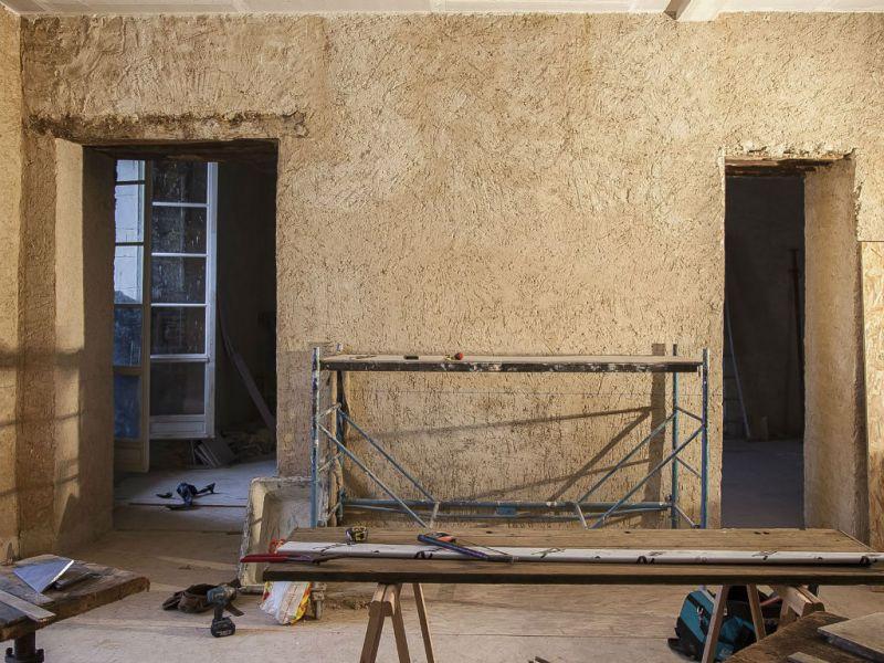 Enduits chaux pour murs intérieurs