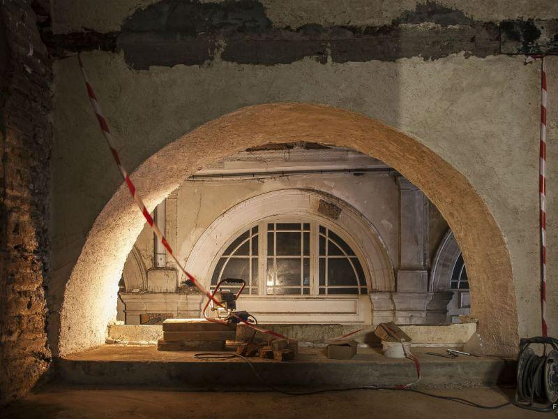 Restauration arcade intérieure