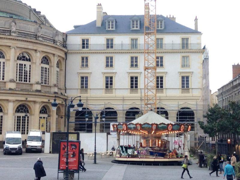 L'immeuble 2 galerie du Thêatre-à Rennes