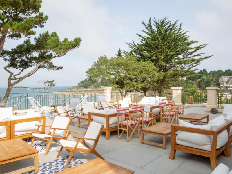 Création d'une nouvelle terrasse pour le restaurant