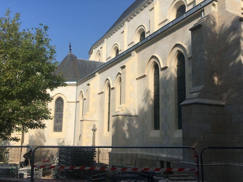 La chapelle après travaux - façade Sud