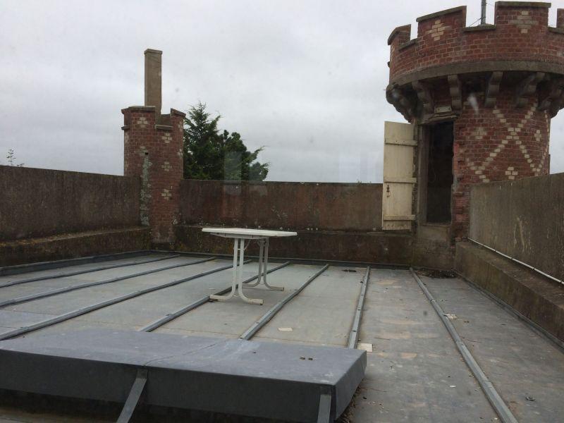 Terrase avant les travaux