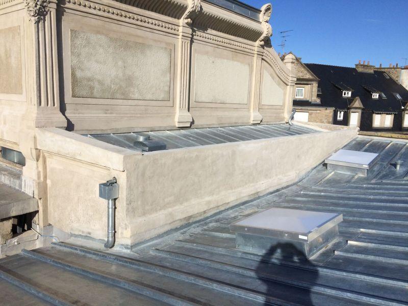 La toiture après les travaux