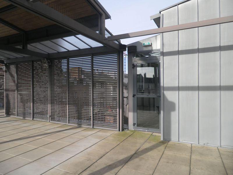 La terrasse avant les travaux